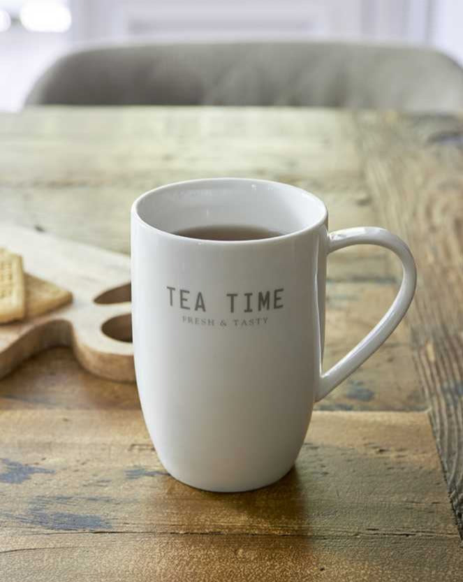 TEA // Tea Time porcelain mug