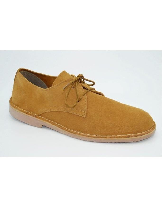 SAFARI SHOES // Camel suede - Loja Real