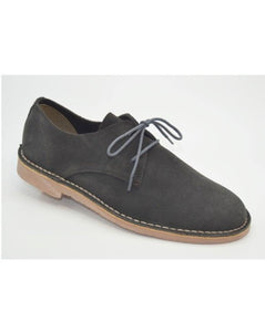 SAFARI SHOES // Grey suede - Loja Real