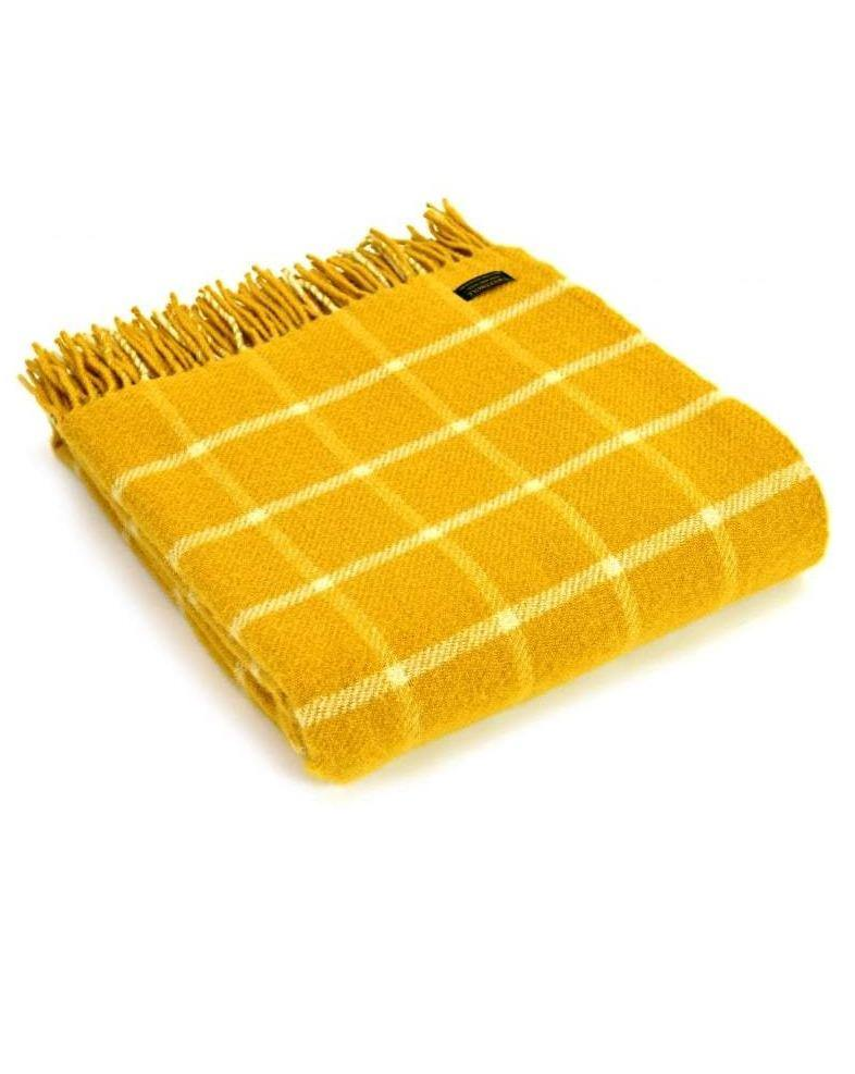 TWEEDMILL // Yellow Checkered Blanket - Loja Real