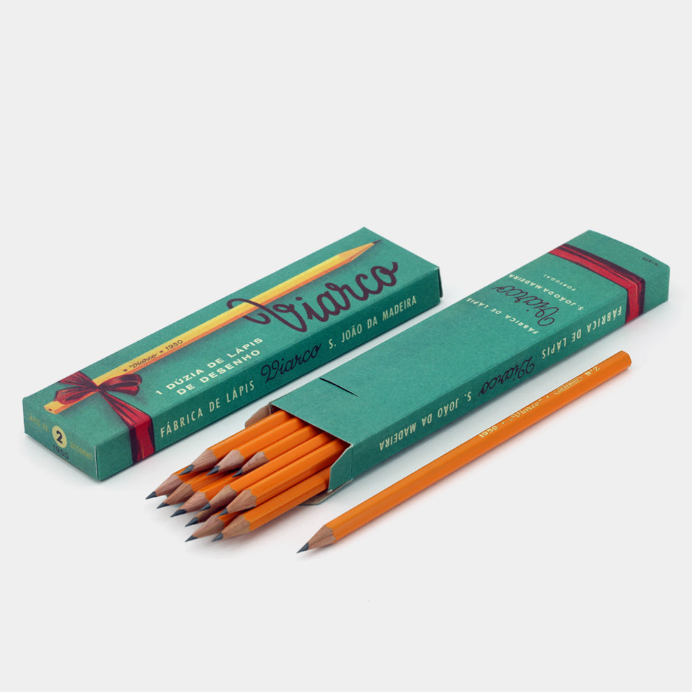 VIARCO // Green Vintage Box 12 pencils