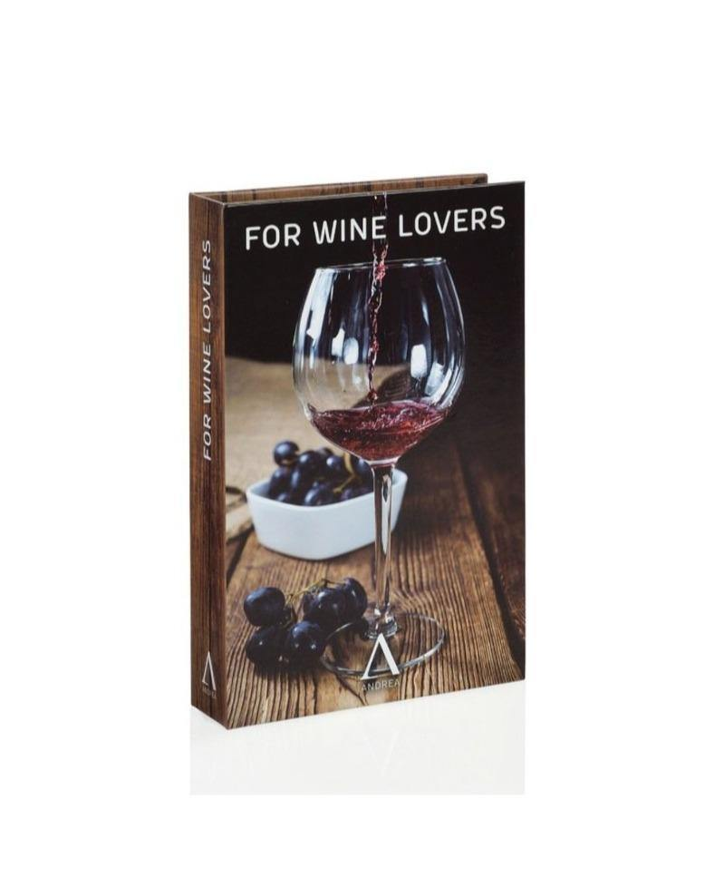 WINE LOVERS // Gourmet kit of 3 wine accessories - Loja Real