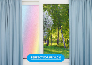 Rainbow Privacy Frost Film