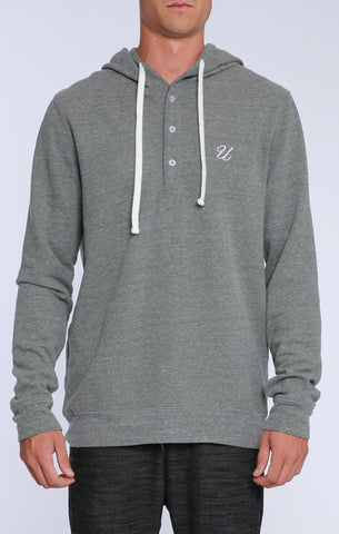 Classic UNC Hooded Henley