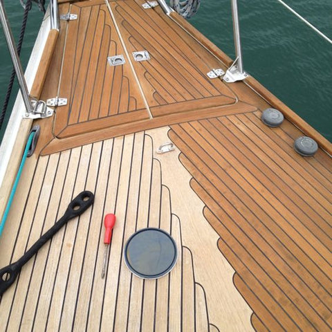 Semco half finished on yacht