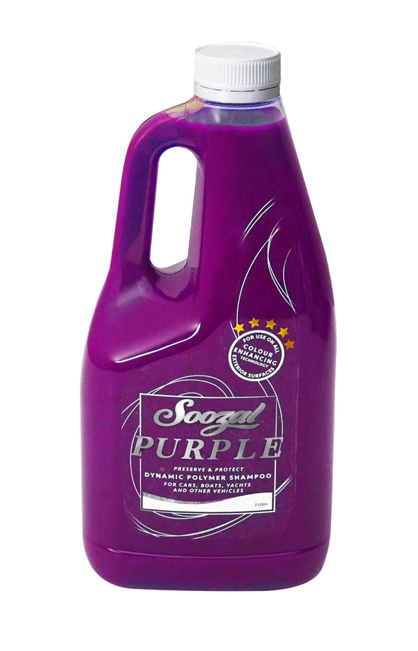 Purple - Vehicle Wash Shampoo - 2 Litre