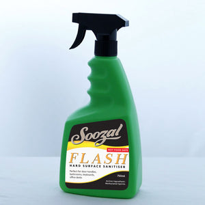 Flash - Medical Grade Surface Sanitiser - 750ml - Soozal