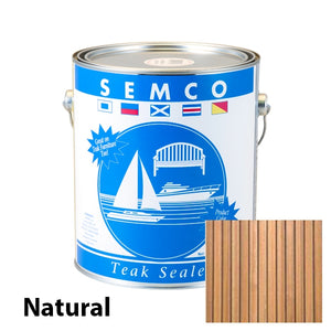 Semco Natural Teak sealer and protector