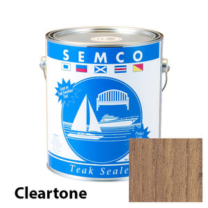 Semco Cleartone teak sealer