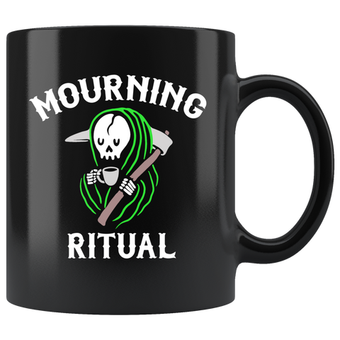 Mourning Ritual Mug - Weird Vibes Worldwide