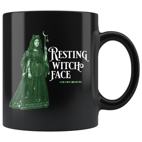 Resting Witch Face Mug - Weird Vibes Worldwide