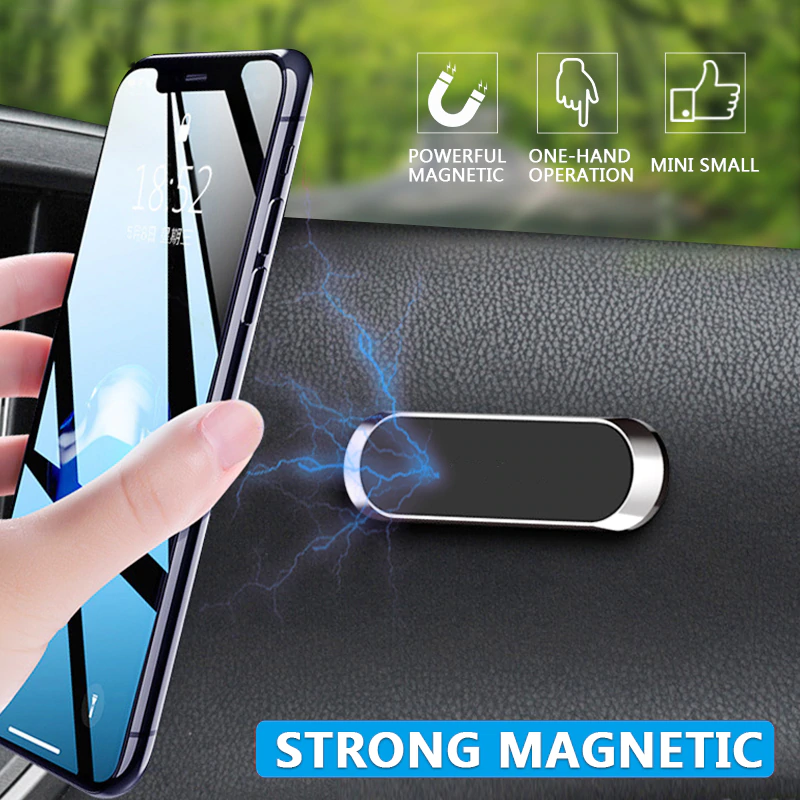 Multifunctional Magnetic Car Phone Mount