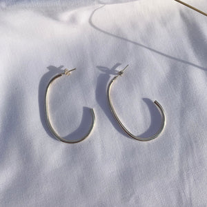 Pear Drop Hoops