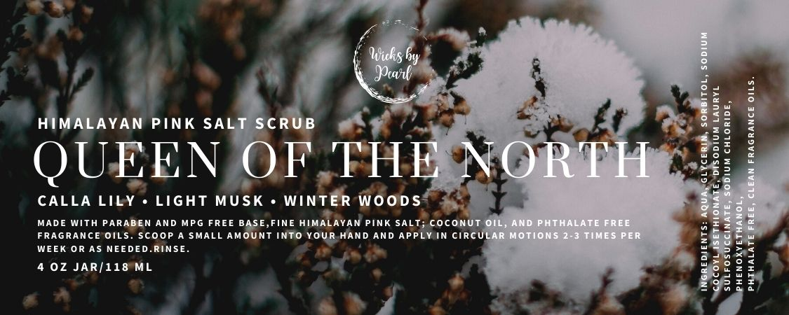 Queen of the North Himalayan Pink Salt Scrub
