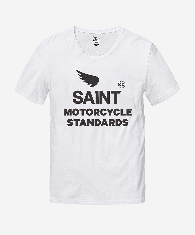 Saint Motorcycle Standards Tee - White