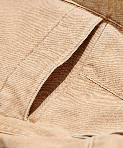 Workwear Twill Chino - Light Stone