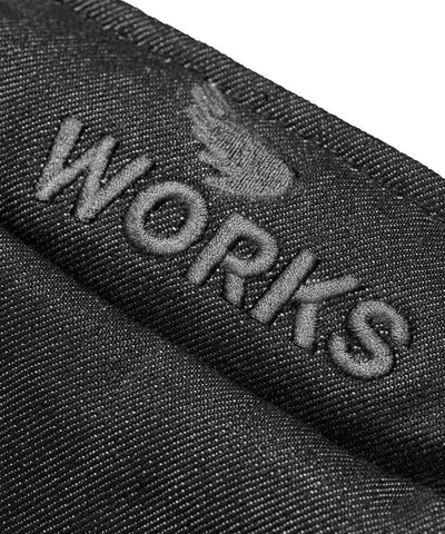 Workwear Twill Vest - Black
