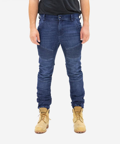 Workwear Aviator Pant - Washed Indigo