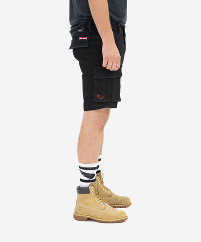 Workwear Cargo Short - Black