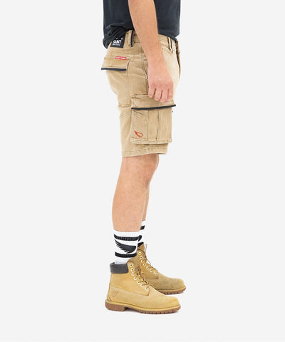 Workwear Cargo Short - Light Stone