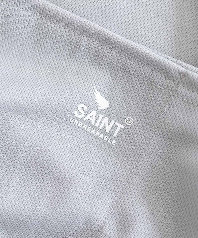 SA1NT Neck Gaiter with Filter - Light Grey