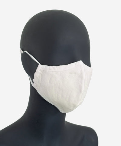SA1NT Hemp Triple Layer Mask - Ecru