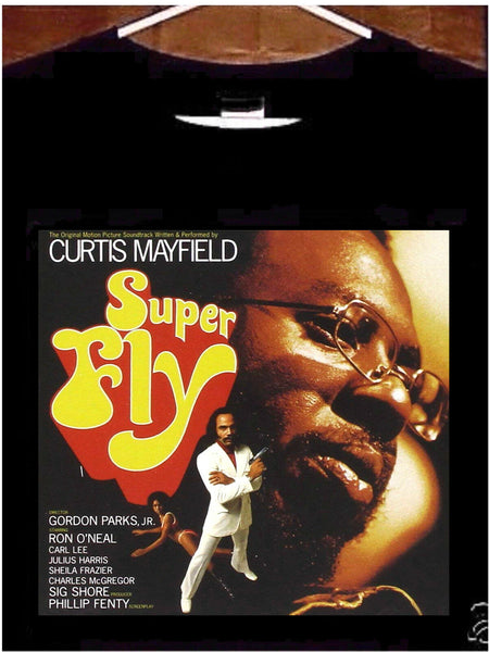 Curtis Mayfield Tee shirt; Curtis Mayfield Superfly Tee Shirt