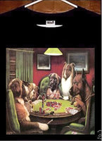 Dogs Playing Poker T shirt; Dogs Playing Poker Tee Shirt