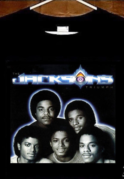 The Jackson 5 T shirt; The Jacksons Triumph Tee shirt