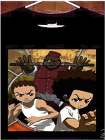 Boondocks T Shirt;  Uncle Ruckus and the Boys Tee Shirt