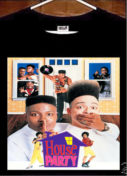 Kid N Play T Shirt; Kid N Play House Party Tee Shirt