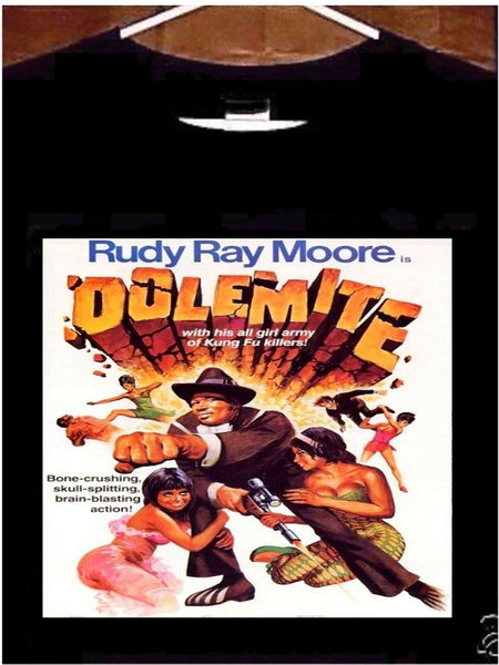 Dolemite T Shirt; Dolemite Movie Poster Rudy Ray Moore Tee Shirt