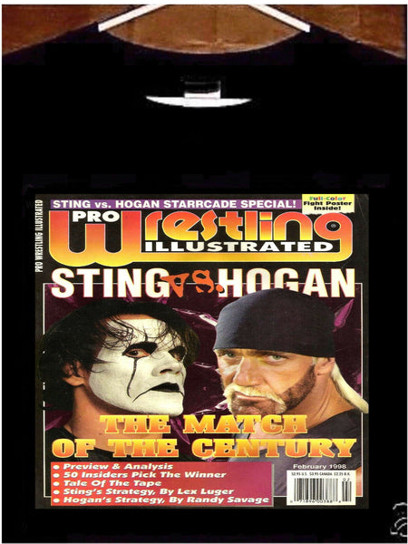 Sting VS Hogan T shirt; Sting vs Hogan Tee Shirt