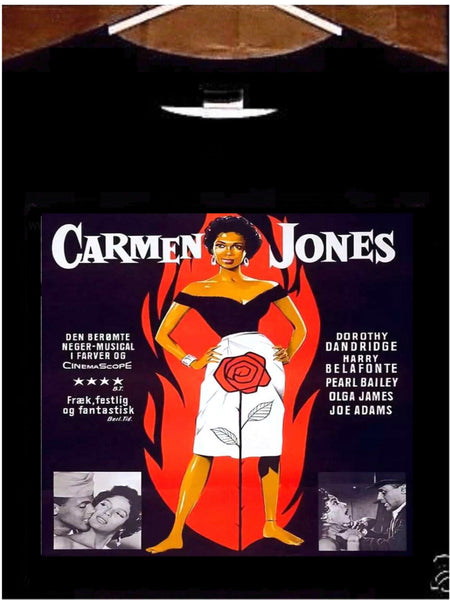 Carmen Jones T Shirt; Carmen Jones Movie Poster Tee Shirt