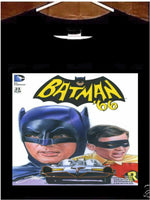 Batman 66 T Shirt; Batman '66 Comic Book Tee Shirt