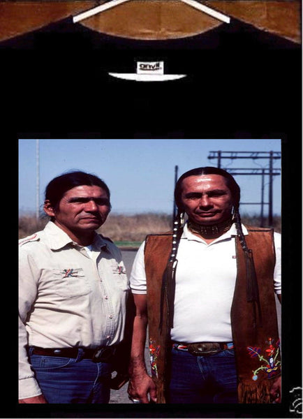 American Indian Movement T shirt; AIM Dennis Banks Russell Means Tee shirt