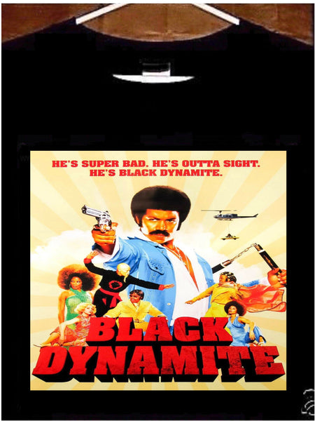 Black Dynamite T Shirt; Black Dynamite Movie Tee Shirt