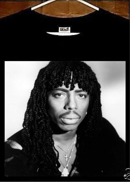 Rick James T shirt; Rick James Tee shirt