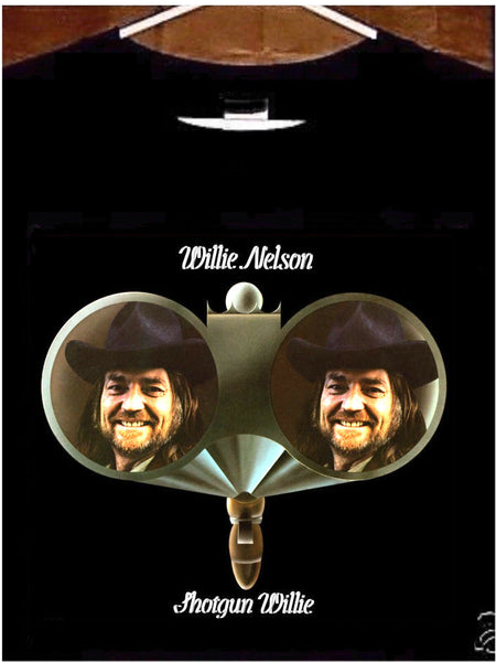 Willie Nelson T shirt; Willie Nelson Shotgun Willie Tee Shirt