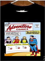 Adventure Comics Collectors T Shirt; Adventure Comics #247 Comic Book Tee Shirt