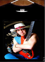 Stevie Ray Vaughan T shirt; Stevie Ray Vaughn Tee Shirt