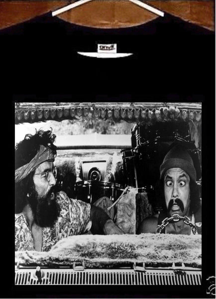 Cheech and Chong T Shirt; Cheech and Chong Up in Smoke Movie Tee Shirt