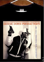 KRS ONE T shirt; Boogie Down Productions By All Means Necessary Tee Shirt
