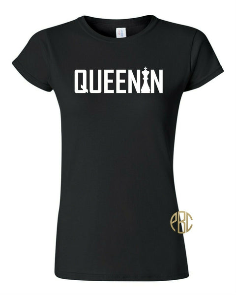 Queen T Shirt;  Hip Hop Fashion Urban Queen Queenin T Shirt