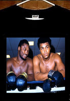 Muhammad Ali T shirt; Joe Frazier and Muhammad Ali T shirt