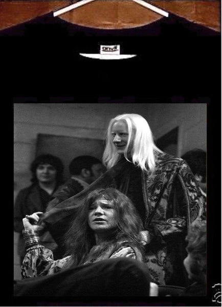 Janis Joplin Tee Shirt; Janis Joplin Johnny Winter T Shirt