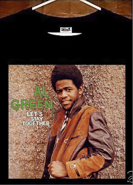 Al Green T Shirt, Al Green Lets Stay Together Album Cover T Shirt