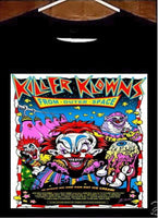 Killer Klowns T shirt; Killer Klowns From Outer Space Tee Shirt