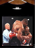Mike Tyson T shirt; Evander Holyfield vs Mike Tyson Bite Ear Tee Shirt