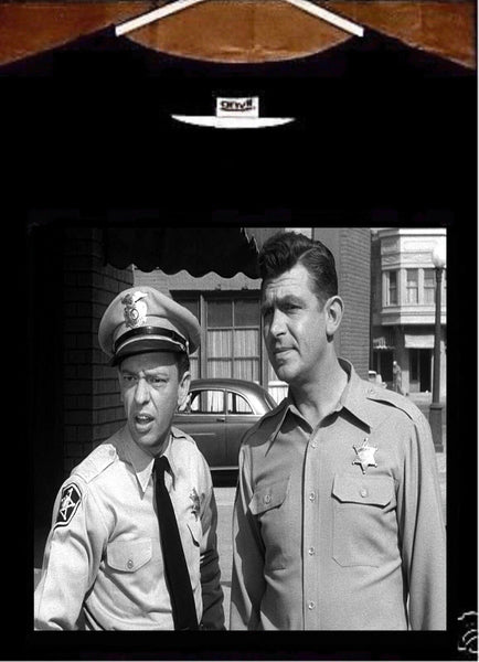 The Andy Griffith Show T shirt; Andy Taylor Barney Fife Andy Griffith Tee Shirt